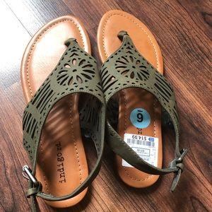 Indigo rd. Brand new sandals size 6